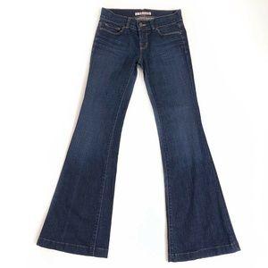 J Brand Flare Leg Blue Jeans Womens Size 27 x 33